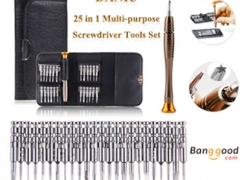 $3.12 for DANIU 25 in 1 Multi-purpose Screwdriver Tools Set from BANGGOOD TECHNOLOGY CO., LIMITED