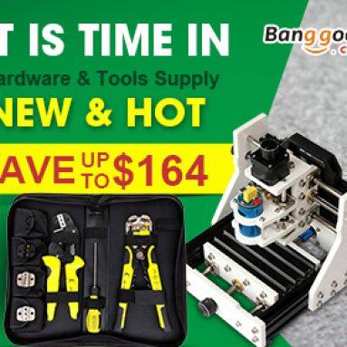 Ušetřete až $ 164: Hot-Sale nástroje, konektor, laserové vybavení od společnosti BANGGOOD TECHNOLOGY CO., LIMITED