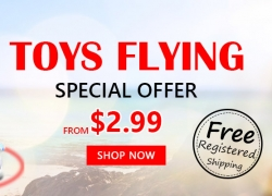 Special Offer From $2.99 Toys Flying Free Shipping from Zapals