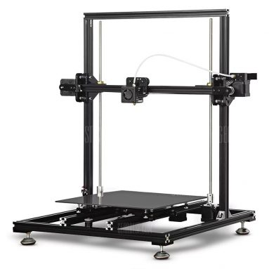 $259 with coupon for Tronxy X3S Aluminum Frame LCD Screen 3D Printer DIY Kit  –  EU PLUG  BLACK from GearBest