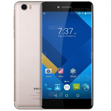 $153 with coupon for Vernee Mars 4G Phablet – GRAY from GearBest