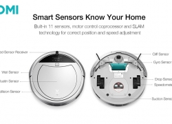 €129 with coupon for VIOMI Smart 11 Sensors Automatic Recharge Remote Control Planning Route Robot Vacuum Cleaner from BANGGOOD