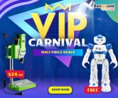 Banggood VIP Carnival with Half Price Promotion from BANGGOOD TECHNOLOGY CO., LIMITED