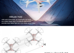 $10 discount for WLtoys Q696-A Quadcopter, free shipping $129.99 (Code: TTWL696) from TOMTOP Technology Co., Ltd