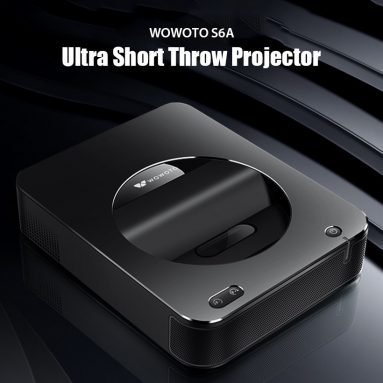 $719 with coupon for wowoto S6A Ultra Short Throw 1000 ANSI Lumens DLP Projector – BLACK EU PLUG from GearBest