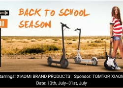 BACK TO SCHOOL SEASON @ TOMTOP – lowest prices for all XIAOMI products