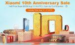 Распродажа по случаю 10-летия Xiaomi @ BANGGOOD