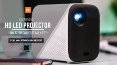 € Xiaomi Mijia Akıllı Projektör için kuponlu € 339 Mini Işınlayıcı Kompakt 1080P 4K Full HD 500 ANSI Lümen EU GER deposundan AB Versiyonu EDWAYBUY (IT, GER, ES, PT için)