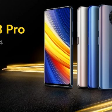 €206 with coupon for POCO X3 Pro Global Version Snapdragon 860 8GB 256GB 6.67 inch 120Hz Refresh Rate 48MP Quad Camera 5160mAh Octa Core 4G Smartphone from BANGGOOD