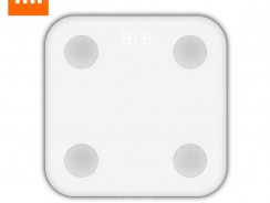 $34 with coupon for Xiaomi Bluetooth 4.0 Smart Weight Scale  –  WHITE from Gearbest