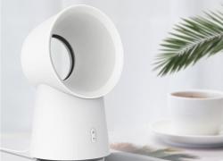 € 18 avec coupon pour Xiaomi Happy Life 3 dans l'humidificateur 1 pour mini-ventilateur de refroidissement sans ventilateur pour ordinateur de bureau avec lumière LED de BANGGOOD