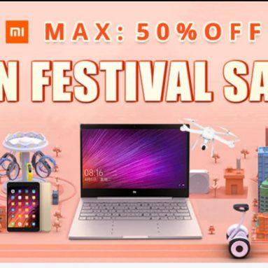 MIファンフェスティバルセール2018 Gearbest Xiaomi Springライフスタイル製品Flashセール最大50%割引 -  GearBest.com