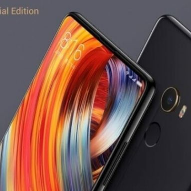 $579 with coupon for Xiaomi Mi MIX 2 Special Edition Ceramic Unibody  Smartphone Global 8GB RAM 128GB from Banggood