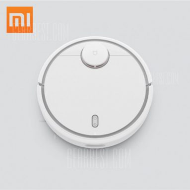 €208 with coupon for Original Xiaomi Smart Robot Vacuum Cleaner  –  FIRST-GENERATION  WHITE CN warehouse from GearBest