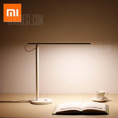 $ 45 sa kupon para sa Xiaomi Mijia Yeelight MJTD01YL Smart LED Desk Lamp - WHITE EU warehouse mula sa GearBest