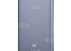 Only $26 with coupon for Original Xiaomi Mi Pro 10000mAh Type-C USB Power Bank Gray from GearBest