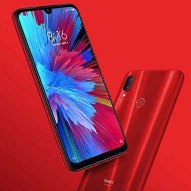€172 with coupon for Xiaomi Redmi Note 7 4G Phablet Global Version 4/128GB – Rose Red from GEARBEST