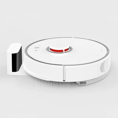 $379 with coupon for roborock S50 Smart Robot Vacuum Cleaner  –  SECOND-GENERATION WHITE from GearBest