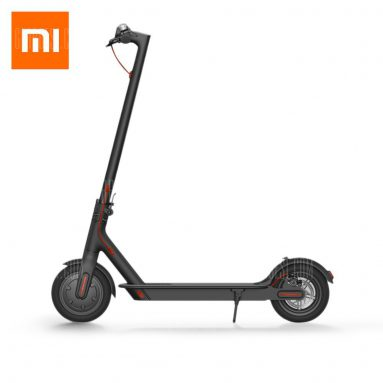 $369 with coupon for Original Xiaomi M365 Folding Electric Scooter  –  BLACK from GearBest