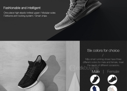 $10 off for Xiaomi Mijia Smart Shoes from Geekbuying