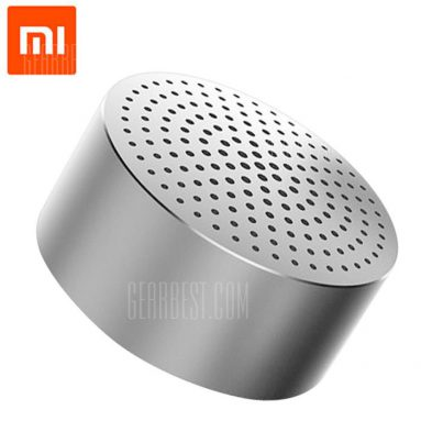 $11 with coupon for Original Xiaomi Wireless Bluetooth 4.0 Speaker Silver from GearBest