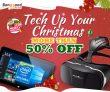 Hơn 50% OFF Khuyến mãi Giáng sinh cho Công nghệ thông minh từ CÔNG TY TNHH CÔNG NGHỆ BANGGOOD