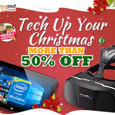 More than 50% OFF Christmas Promotion for Smart Tech from BANGGOOD TECHNOLOGY CO., LIMITED
