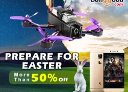 Over 50% OFF Easter Promotion with Unbeatable Price from BANGGOOD TECHNOLOGY CO., LIMITED
