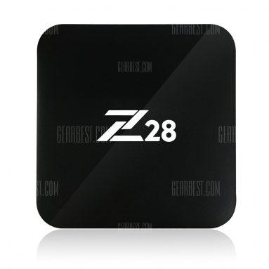 $ 37 với phiếu giảm giá cho Z28 TV Box - 2 + 16G EU BLACK từ GearBest