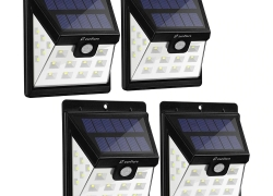 $29 with coupon for zanflare HJ001 22 LED Solar Floodlight(4 pack)from Gearbest
