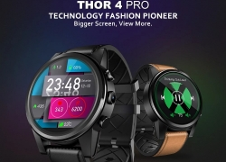 $99 with coupon for Zeblaze Thor 4 PRO 4G LTE Smart Watch from TOMTOP