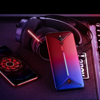 €457 with coupon for ZTE Nubia Red Magic 3 6.65 Inch FHD+ 5000mAh Android 9.0 48.0MP Rear Camera 6GB 128GB Snapdragon 855 4G Gaming Smartphone – Chinese Version from BANGGOOD